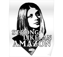 TARA MACLAY: Strong Like An Amazon Poster