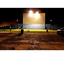 Drive in Theater Photographic Print
