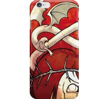 The princess in red iPhone Case/Skin