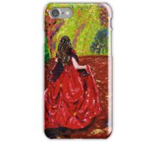 La Dame Rouge iPhone Case/Skin