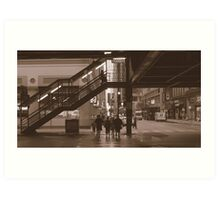 Under the Loop, Chicago Art Print