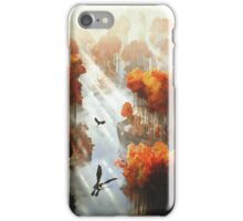 Flying in Autumn iPhone Case/Skin