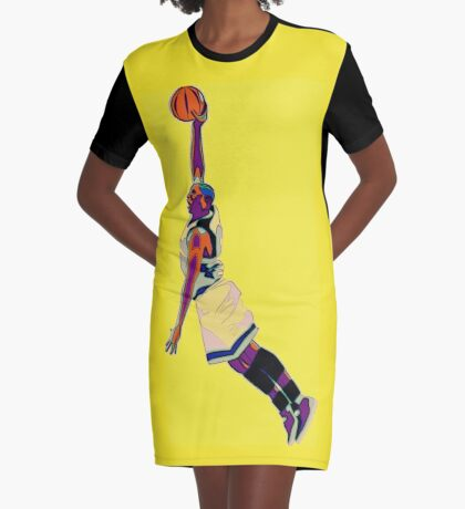 The Basketball Player Graphic T-Shirt Dress