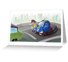 City Cruiser Greeting Card