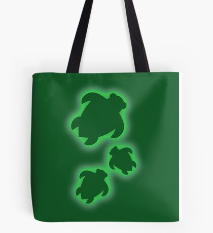 Spray on Turtles Tote Bag