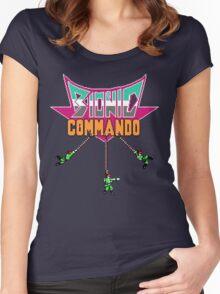 Bionic Commando T-Shirt 2 Women's Fitted Scoop T-Shirt