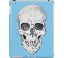 Frontal Skull Anatomical Drawing iPad Case/Skin