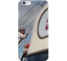 Lady on a Swing iPhone Case/Skin