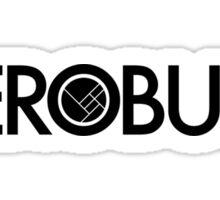 Herobust Text Logo Sticker