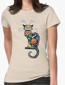 El Gato de los Muertos Womens Fitted T-Shirt