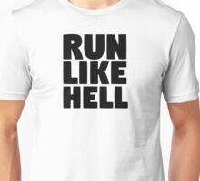 pink floyd run like hell lyrics cool rocker hippie t shirts Unisex T-Shirt