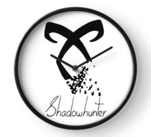 Shadowhunter symbol Clock
