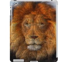Lion Pixel Art iPad Case/Skin