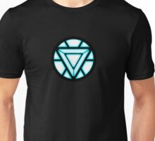 Arc Reactor Iron Man Suit Sign Unisex T-Shirt