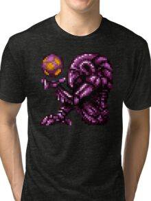 Super Metroid Pink Chozo Tri-blend T-Shirt
