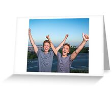 JOE SUGG & CASPAR LEE Greeting Card