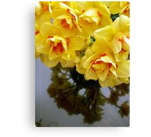 YELLOW REFLECTION  Canvas Print