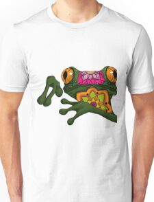 psychedelic frog Unisex T-Shirt
