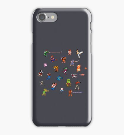 Champions of the NES! iPhone Case/Skin