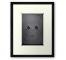 Doctor Who - Cybermen Upgrade Framed Print