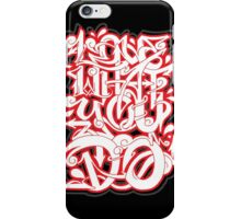 Love What You Do iPhone Case/Skin