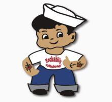 Kid Billy as Rockabilly Rebel Kids Tee