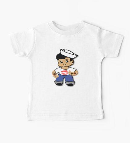 Kid Billy as Rockabilly Rebel Baby Tee