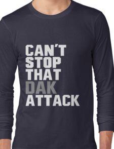 Dak Attack - Dallas Cowboys - Dak Prescott #4 Long Sleeve T-Shirt
