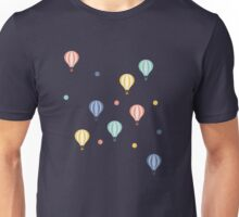 Hot-air Balloon Pattern Unisex T-Shirt