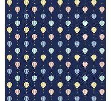 Hot-air Balloon Pattern Photographic Print