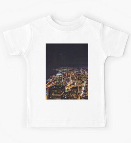 Seattle By Night Kids Tee