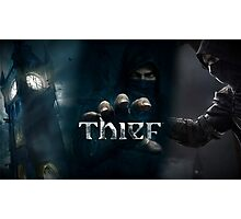 Thief Poster [SQUARE ENIX] Photographic Print
