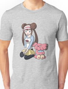 Rosa chilling with Snubbull Unisex T-Shirt