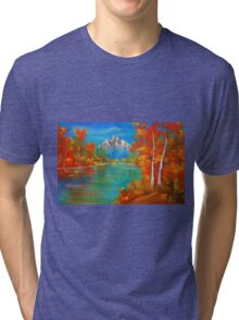 Middle of  Autumn  Tri-blend T-Shirt