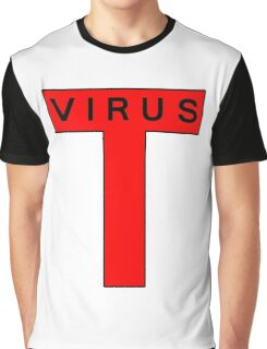 T-Virus Black Graphic T-Shirt