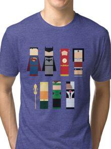 The Justice League  Tri-blend T-Shirt