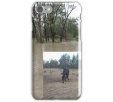 A land of contrasts - from drought to flood iPhone Case/Skin