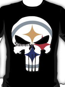 Pittsburgh Steelers Punisher Logo T-Shirt