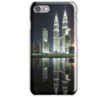 Petronas Towers Reflection iPhone Case/Skin