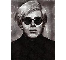 Andy Warhol, Artist Photographic Print