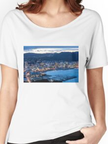 Wellington By Night Women's Relaxed Fit T-Shirt