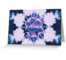 FLUME (5) Greeting Card