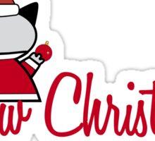 Meow Christmas 2 Sticker