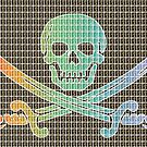 Rainbow Pirate Flag by Gary Hogben