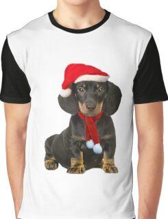 Dachshund Christmas Graphic T-Shirt
