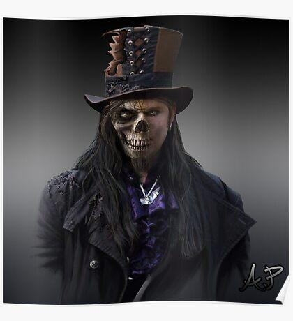 Gothic Zombie Poster