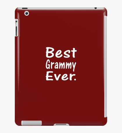 Best Grammy Ever New Baby Announcement Grandma T-Shirt iPad Case/Skin