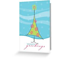 Christmas Card - sweet little tree Greeting Card
