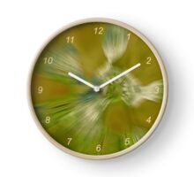 The Queen in abstract Clock