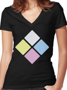 The Diamond Authority - Steven Universe Women's Fitted V-Neck T-Shirt